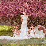 Spring Time Wedding Dress Fashion
