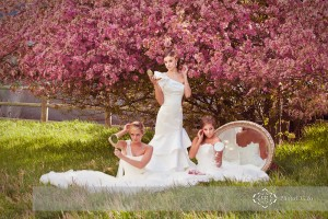Spring Time Wedding Dress Fashion