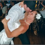 Wedding Reception Dancing - Doing the Dip