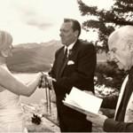 EdWard Officiant Mountain Destination Wedding
