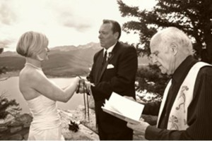 EdWard Officiant Mountain Destination Wedding